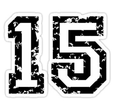 Number Fifteen PNG - 66554