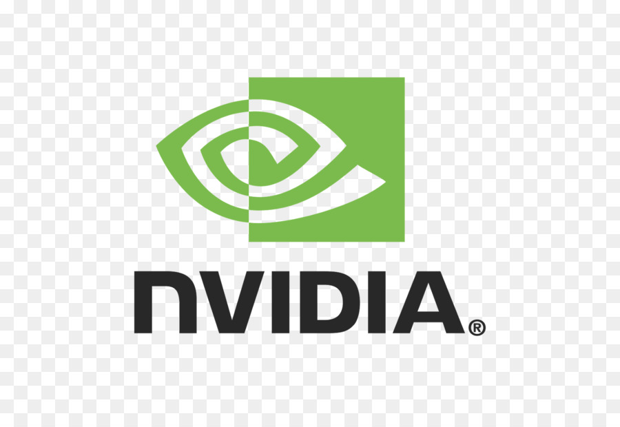 Nvidia Logo 1, Green And Blac