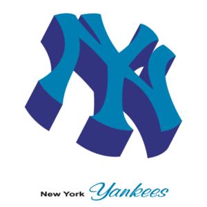 Free Vector Logo New York Yankees(217) - Ny Yankees PNG Free
