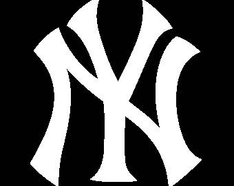 New York Yankees Logo Vinyl Decal Many Sizes Available Buy 2 get 1 free of  equal - Ny Yankees PNG Free