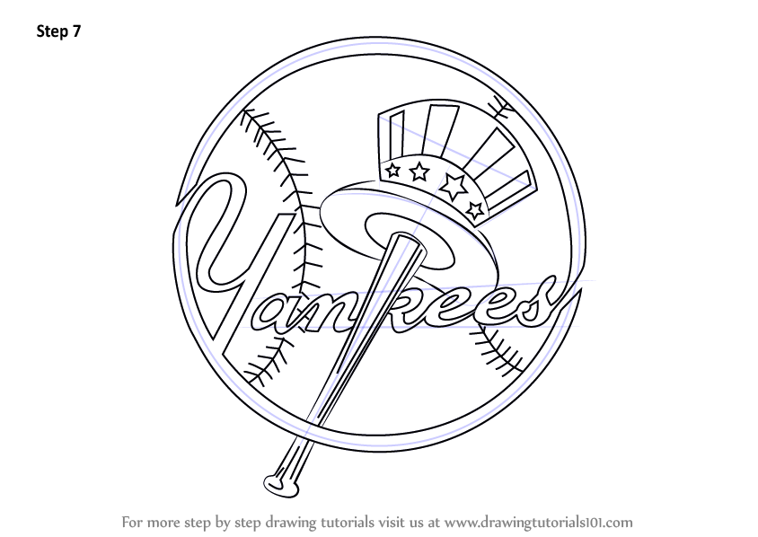 Signup for Free Weekly Drawing Tutorials - Ny Yankees PNG Free