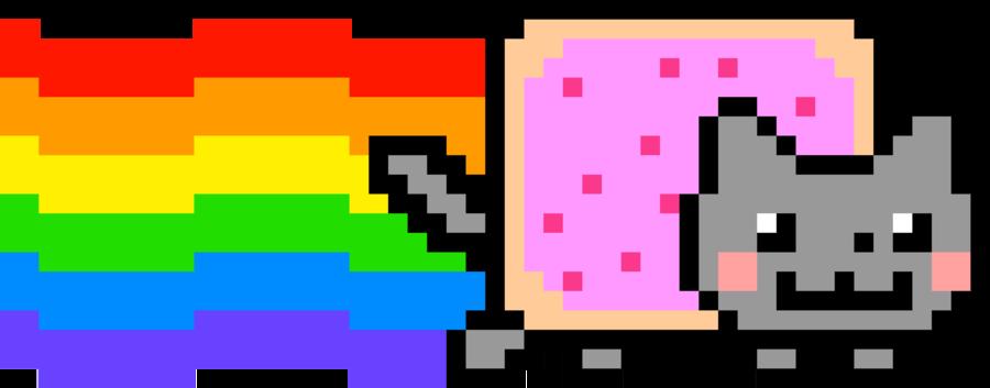 Nyan Cat 6120x2400 by norbi9696 PlusPng.com  - Nyan Cat PNG