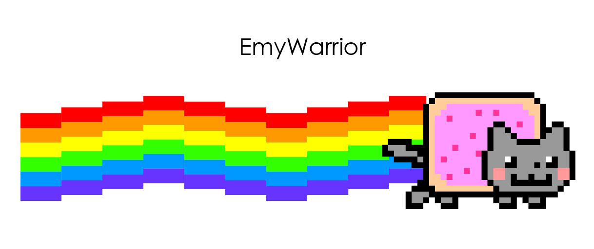 Nyan Cat Vector by EmyWarrior PlusPng.com  - Nyan Cat PNG