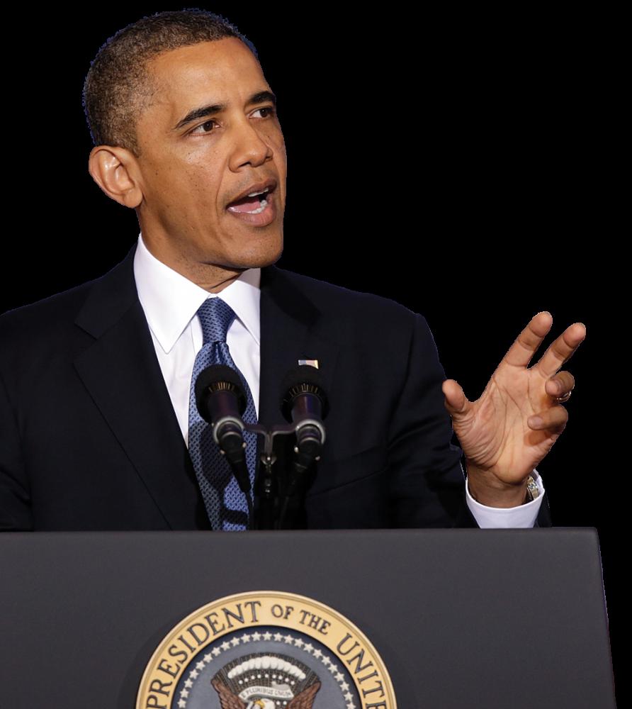 Barack Obama PNG - 855