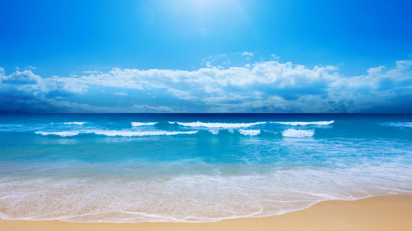 Ocean Background PNG HD - 129012