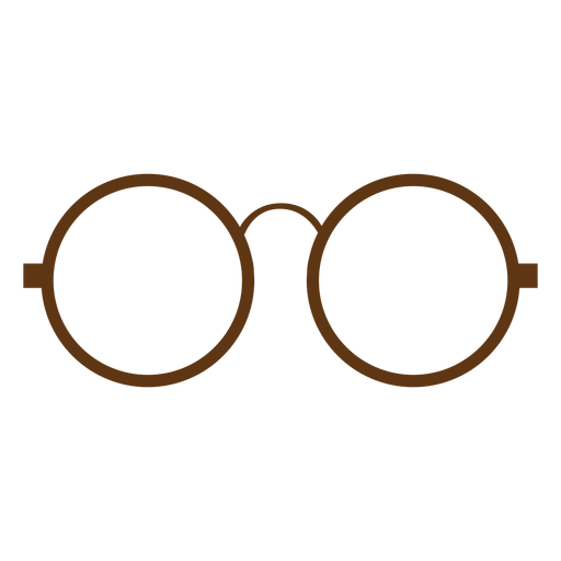 Hipster Round Eyeglass Png - Oculos PNG