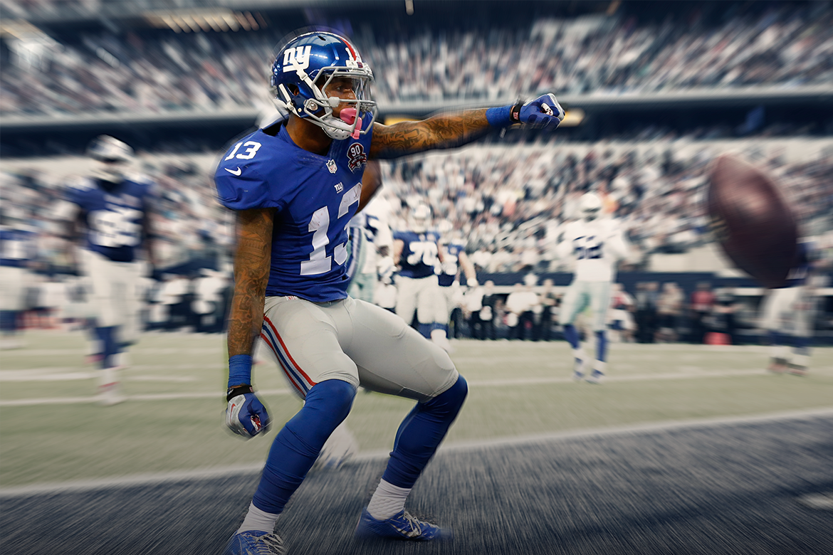 Is Odell Beckham Jr. a Fantasy Football WR1 Despite Giants Struggling  Offense? | Bleacher Report - Odell Beckham Jr PNG
