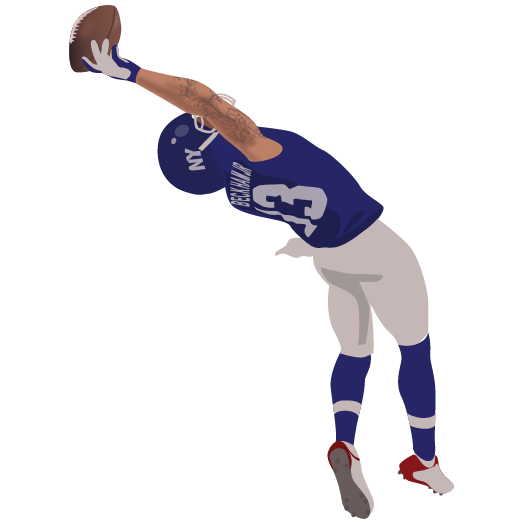 Odell Beckham Jr. One-Handed Catch - Odell Beckham Jr PNG