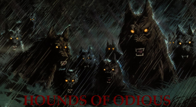 Hounds Of Odious.png - Odious PNG