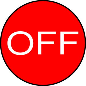 Off Button Clip Art - Off PNG