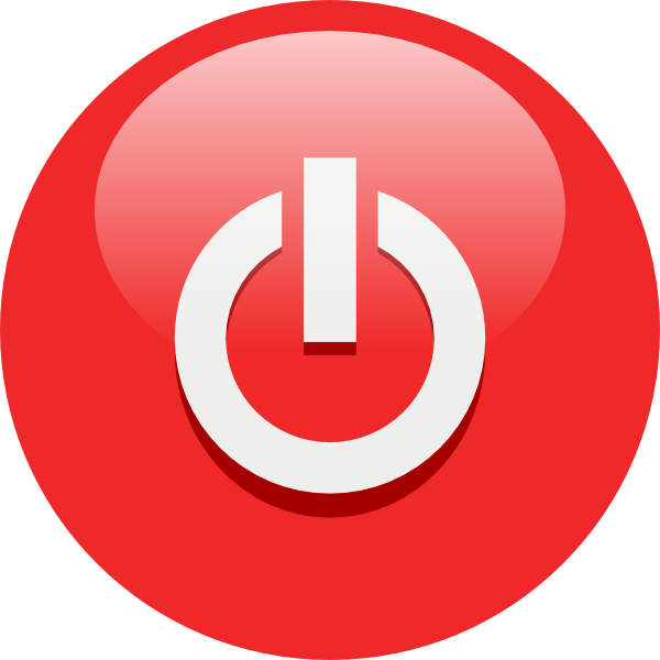 Red Turn Off Png image #14567