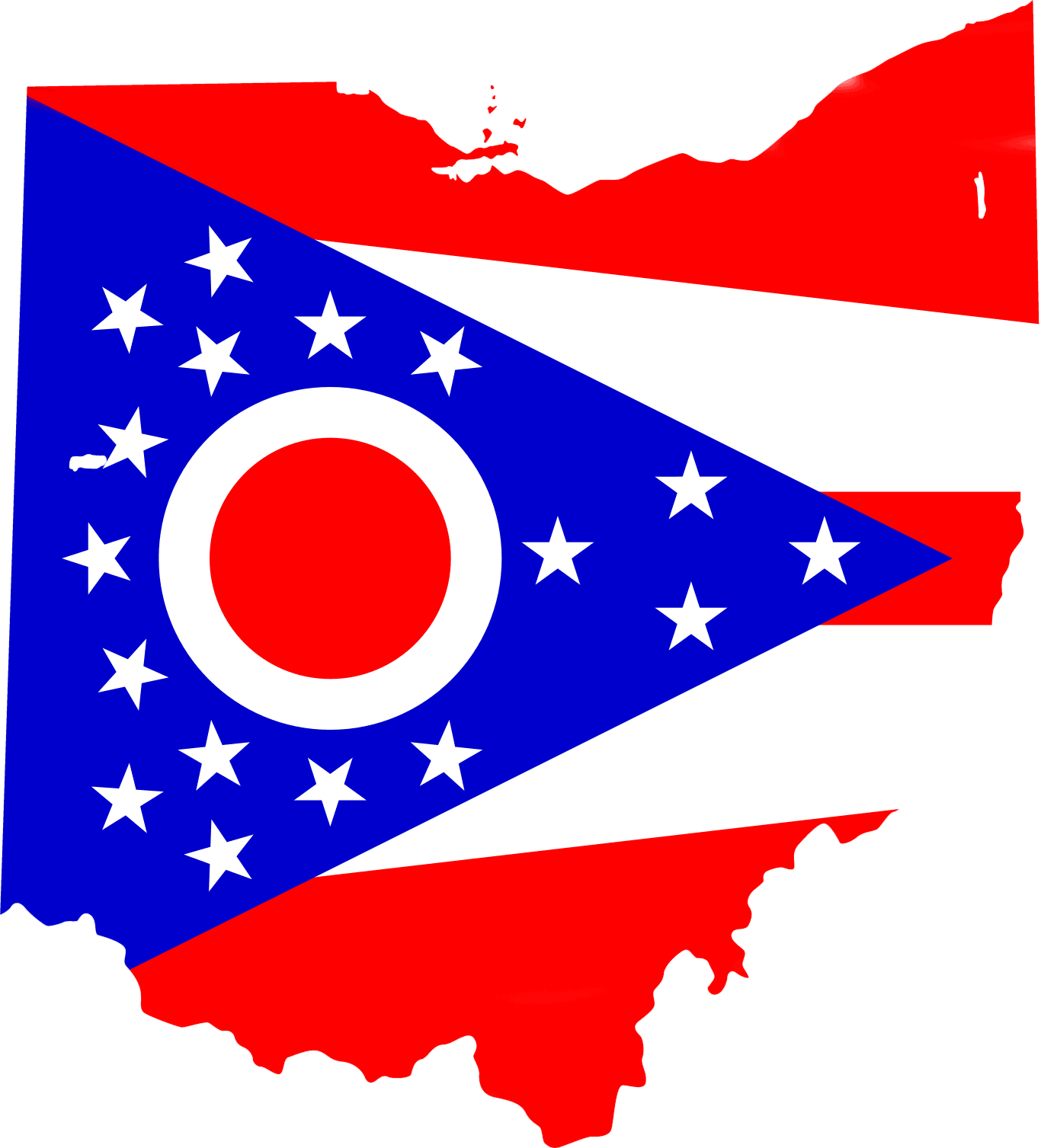 Click on the Ohio Flag Map PlusPng.com  - Ohio Flag PNG
