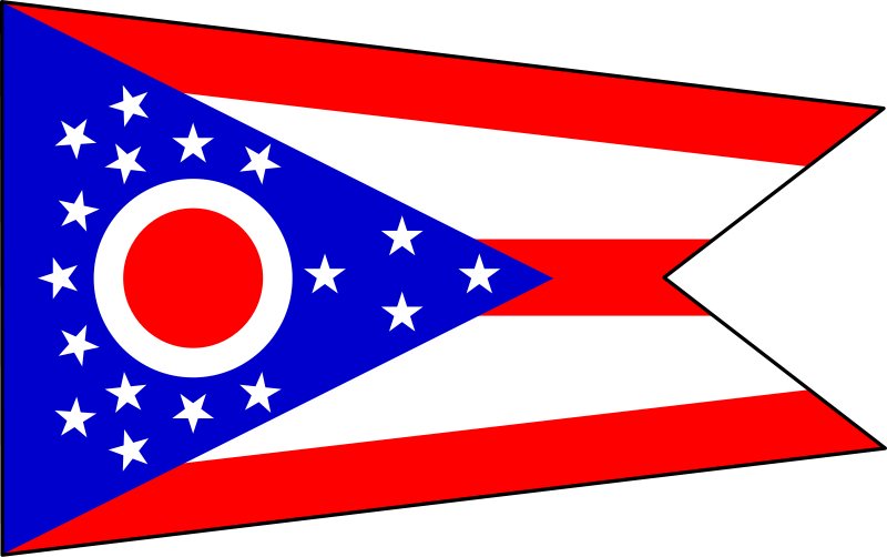 File:Flag of Ohio Compatible.svg - Ohio Flag PNG
