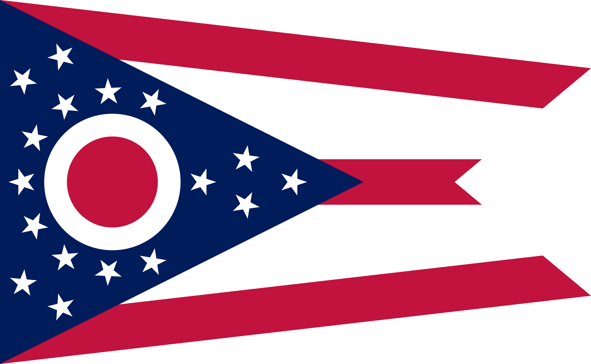 Flag of Ohio.png - Ohio Flag PNG