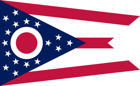 ohio-flag-graphic.png - Ohio Flag PNG