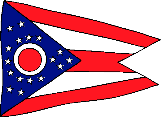 Ohio Flag - pictures and information about the flag of Ohio - Ohio Flag PNG