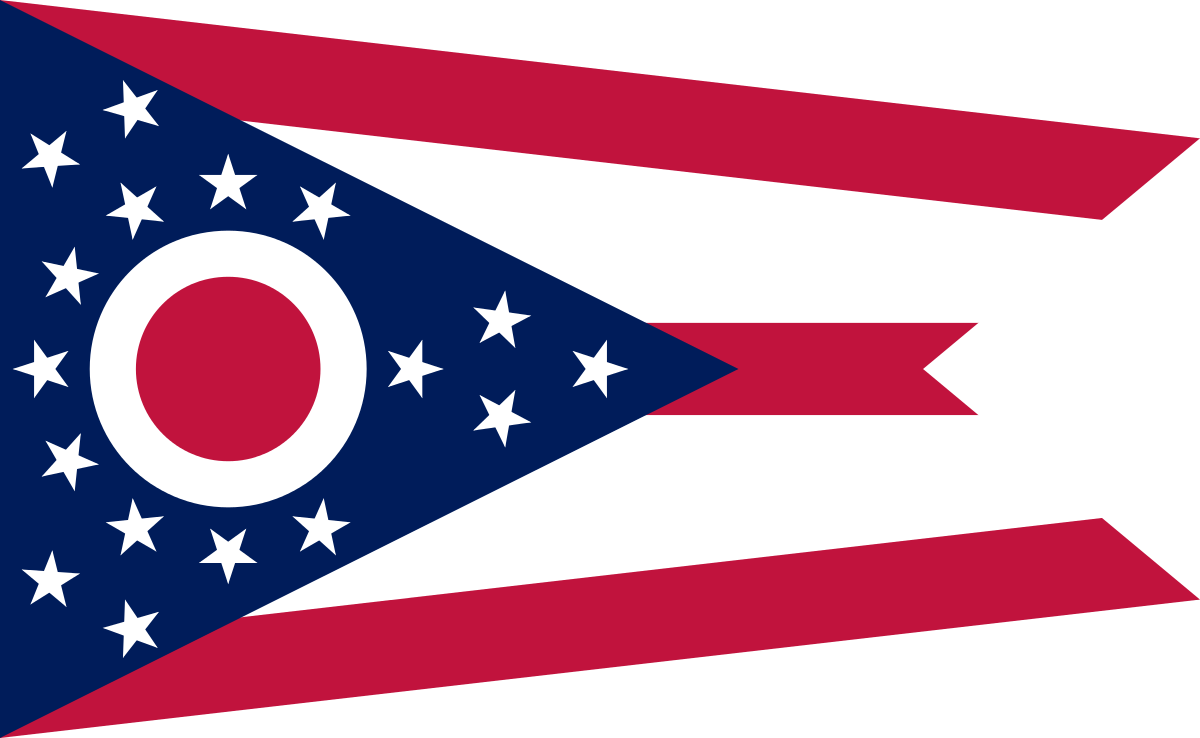 Ohio Flag PNG