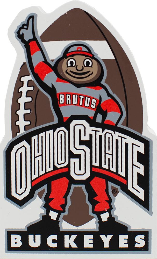 Buckeye Football, Scarlet u0026 Gray, Ohio State, Ohio, OH-IO, - Ohio State Brutus PNG