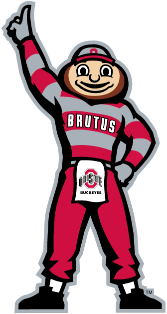 ohio state buckeyes mascot clip art on ohio state buckeyes logo - Ohio State Brutus PNG
