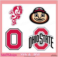 Ohio State Buckeyes Set Design Files Use Your Silhouette Studio Software  SVG Files DXF Explore PNG - Ohio State Brutus PNG