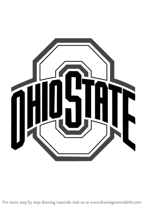 How to Draw Ohio State Buckeyes Logo - Ohio State PNG