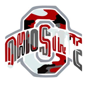 Ohio State Logo Camo Clip Art - Ohio State PNG