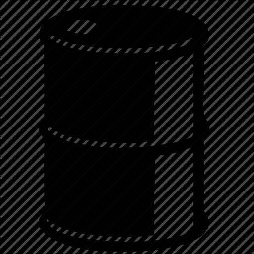 barrel, benzine, fuel, gasoil, gasolene, gasoline, metal, oil, - Oil Barrel PNG