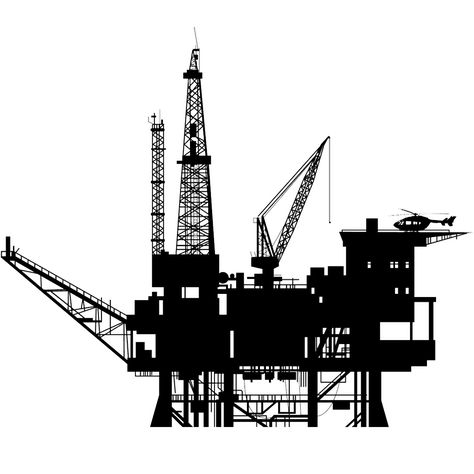 Oil Rig PNG HD