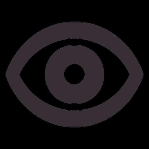 icono del ojo png - Ojo PNG