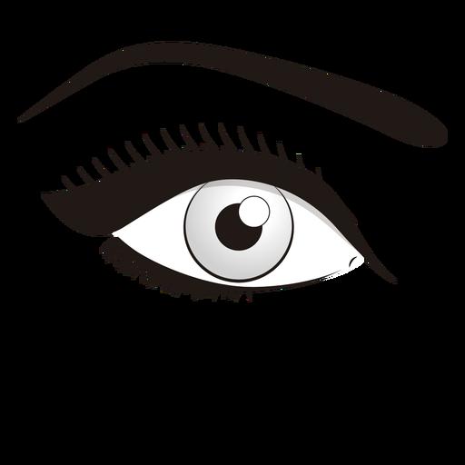Maquillaje de ojo png - Ojo PNG