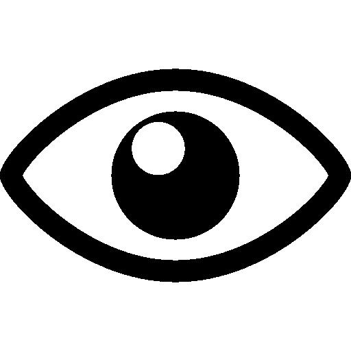 Ver ojo símbolo de interfaz icono gratis - Ojo PNG