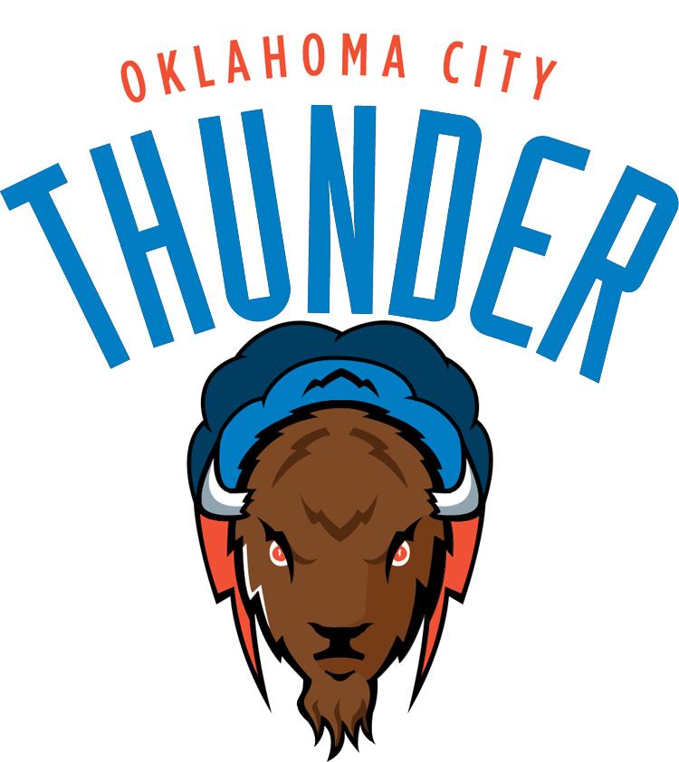 OKC Thunder Logo - Oklahoma City Thunder PNG
