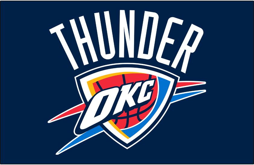 Oklahoma City Thunder. Seattle Supersonics · ◁ Prev Logo - Oklahoma City Thunder PNG