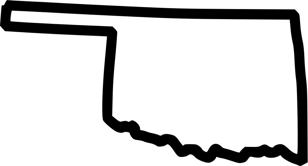 Oklahoma Outline PNG - 72157