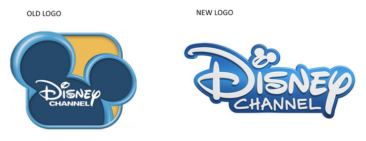 disney channel logo old and new - Old And New PNG
