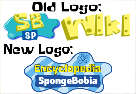 File:Spongebob wiki Logos.png - Old And New PNG