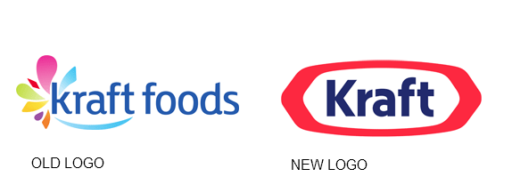 kraft new logo 2012 - Old And New PNG