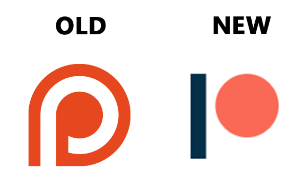 New Patreon Logo PlusPng.com  - Old And New PNG