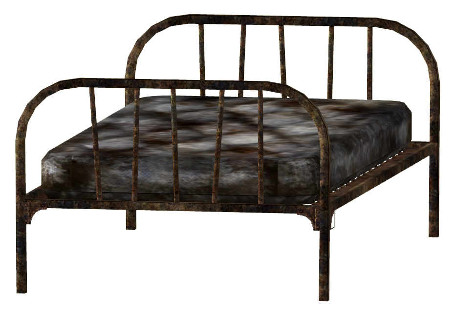 Bed frame mattress.png - Old Bed PNG