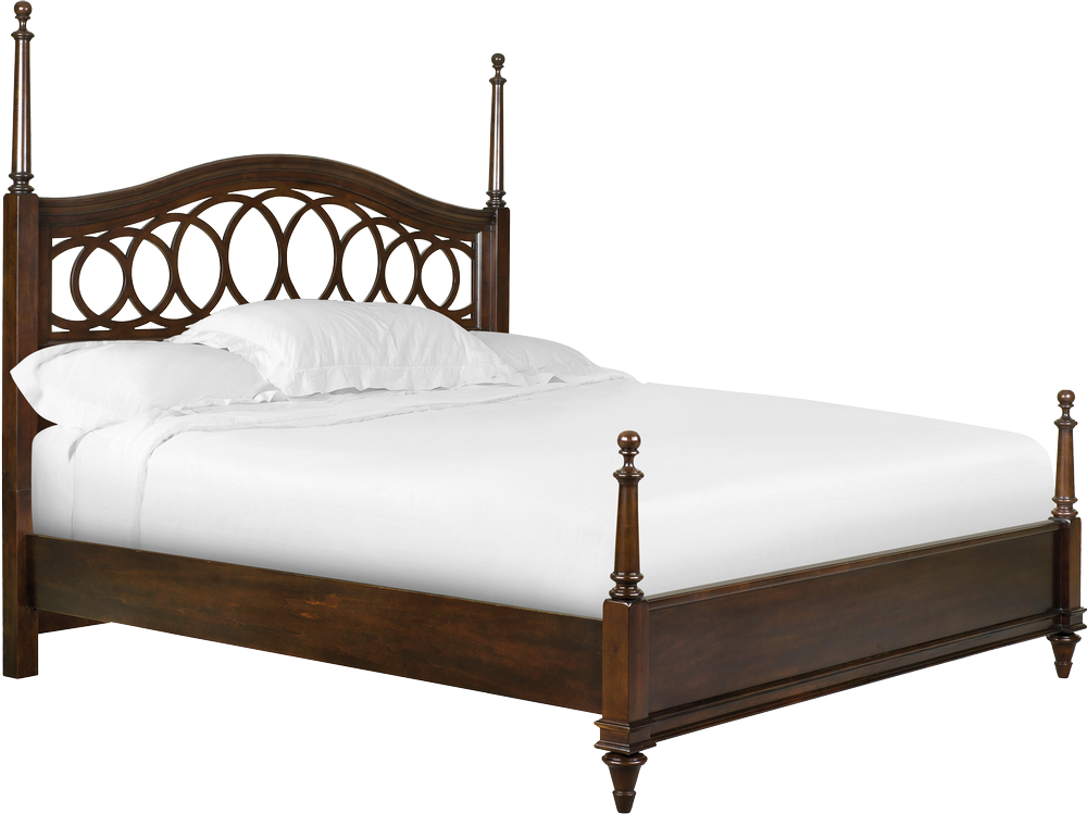 Old Fashioned White Bedroom Furniture Home Design - Old Bed PNG
