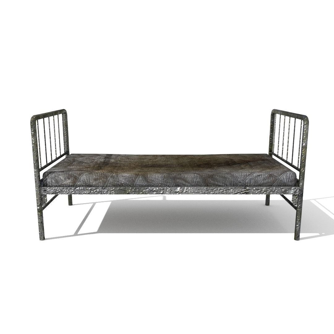 Old Hospital Bed of The Picture Gallery - Old Bed PNG