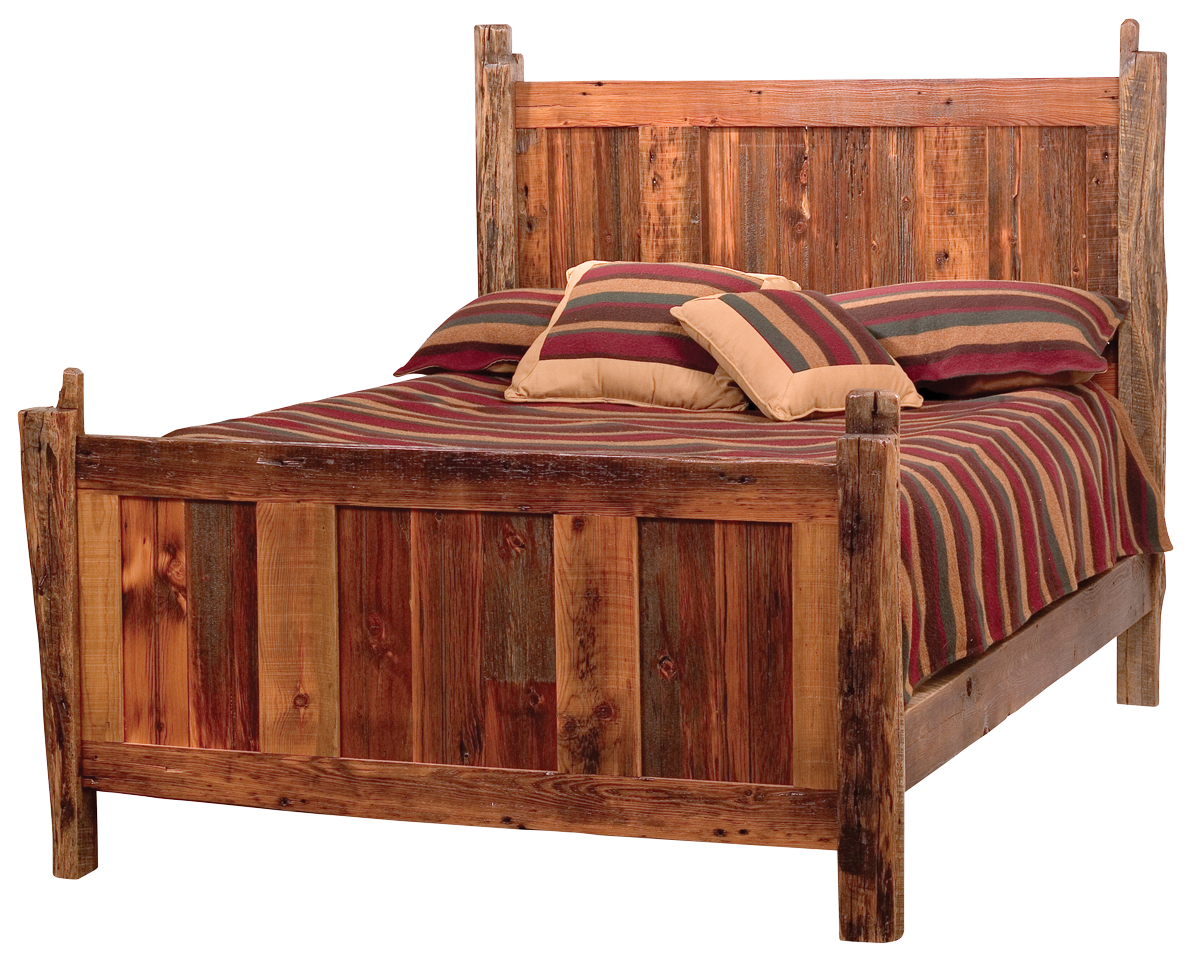 Rustic furniture - Old Bed PNG