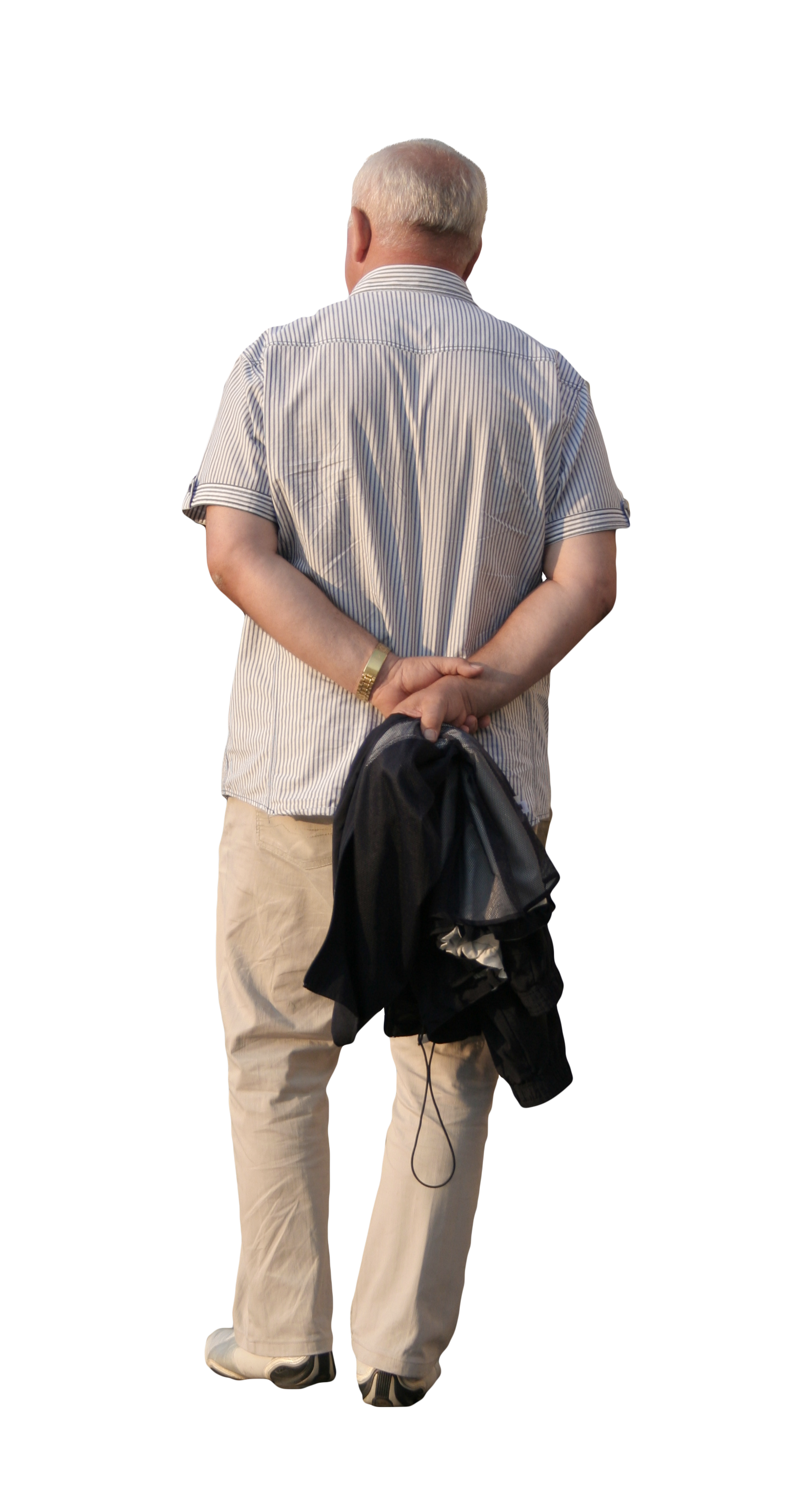 Old Man Standing PNG - 164790