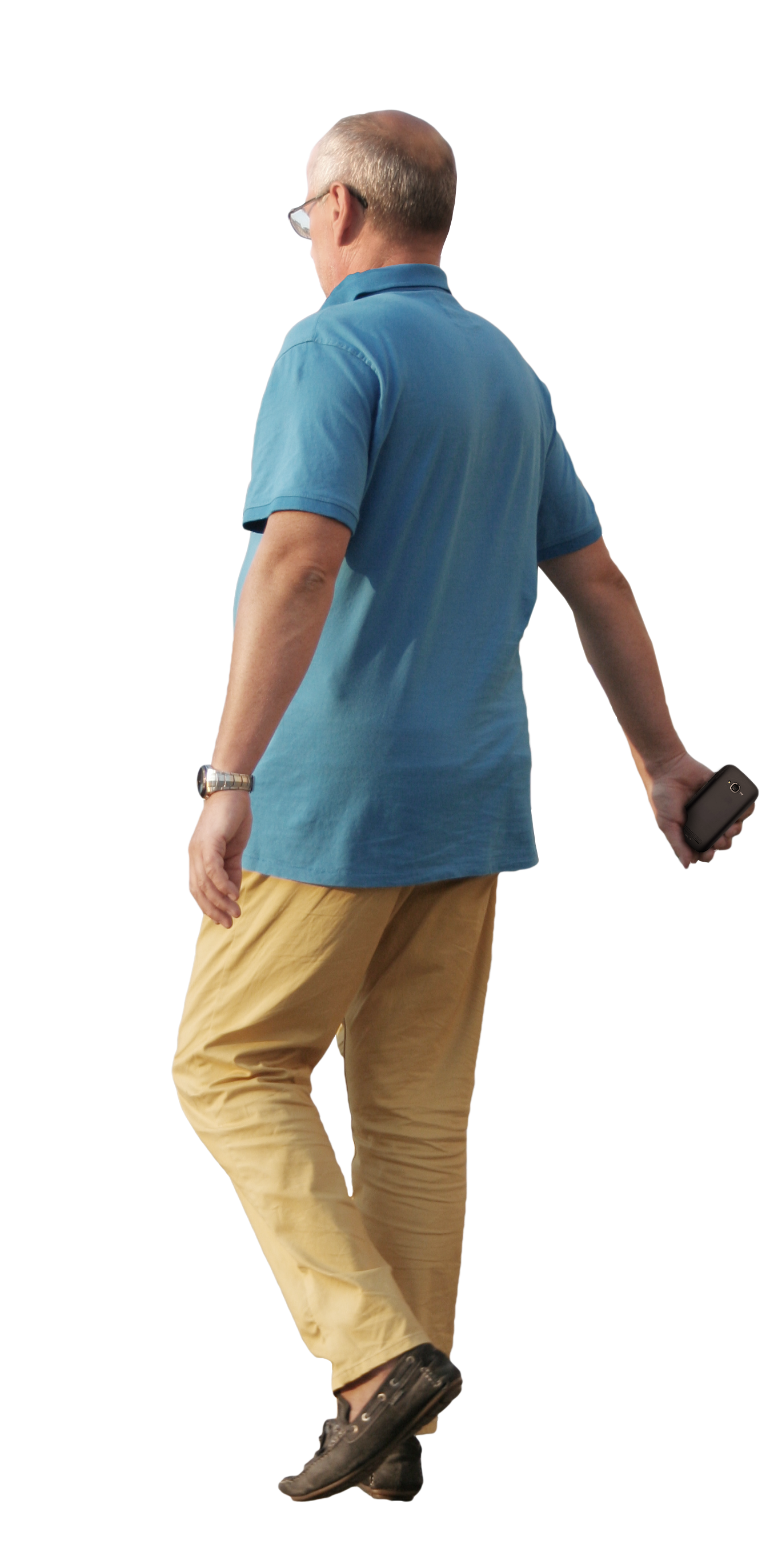 Old Man Standing PNG - 164795