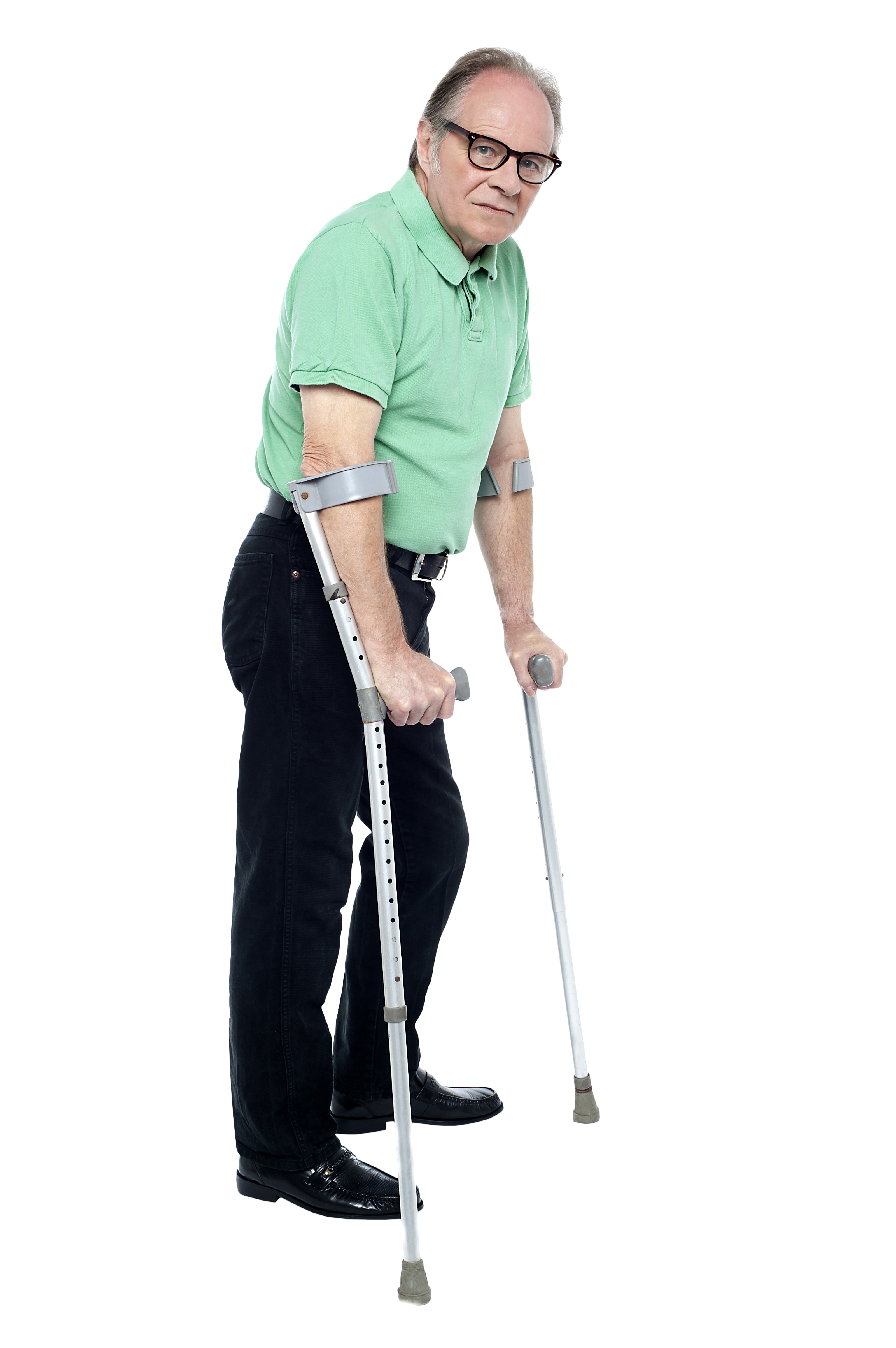 Old Man Standing PNG - 164785
