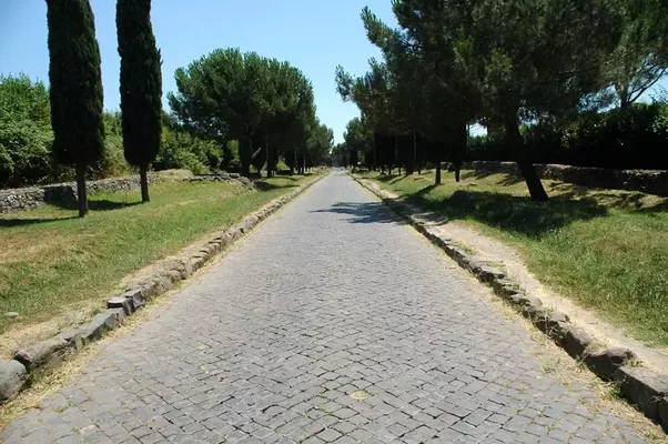 As a footnote Roman roads such as the Via Appia are no longer used but the  routes they created from Rome to Germany, France, Britain, Switzerland and  many PlusPng.com  - Old Roman Road PNG
