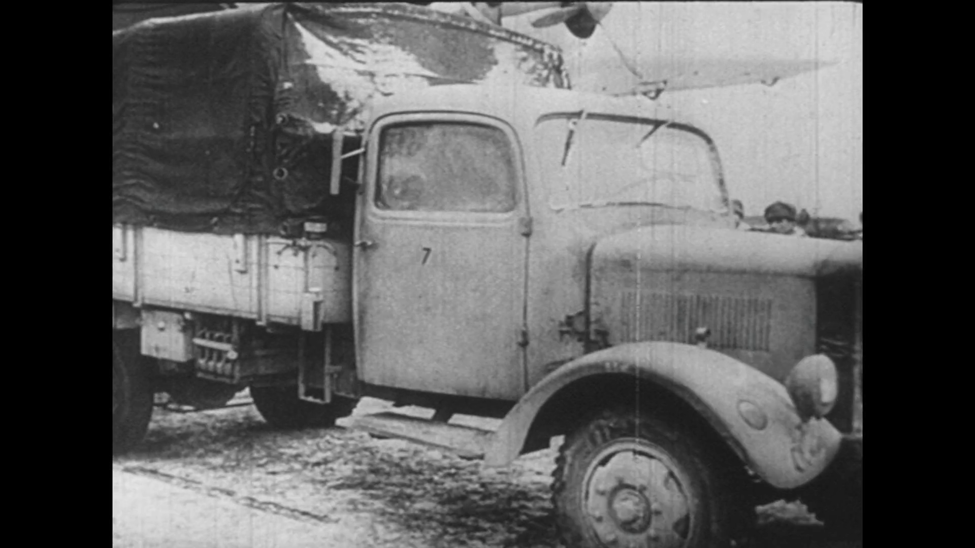 GERMANY 1940s: German scientists load an old truck to transport themselves  and their inventions covertly. Stock Video Footage - VideoBlocks - Old Truck PNG HD