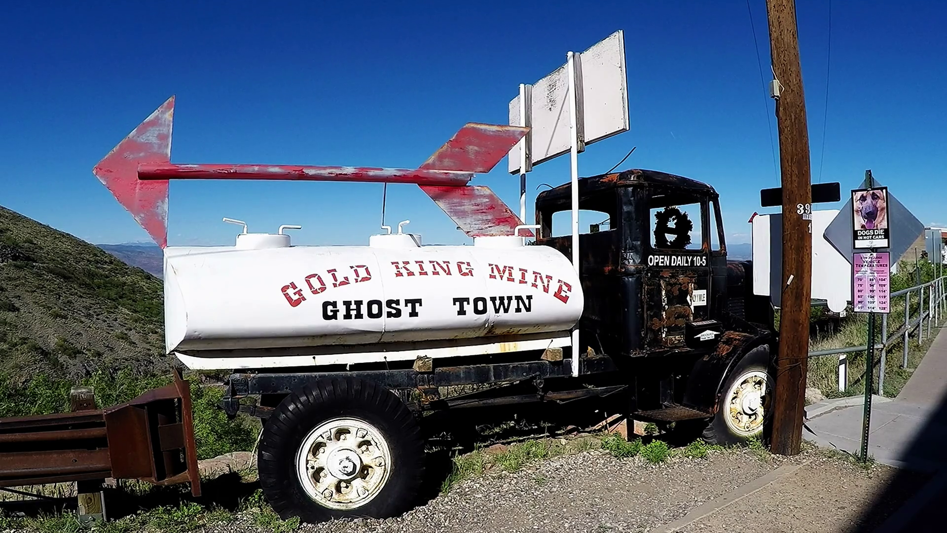 Gold King Mine Ghost Town Sign On Old Truck Jerome Az Stock Video Footage -  VideoBlocks - Old Truck PNG HD