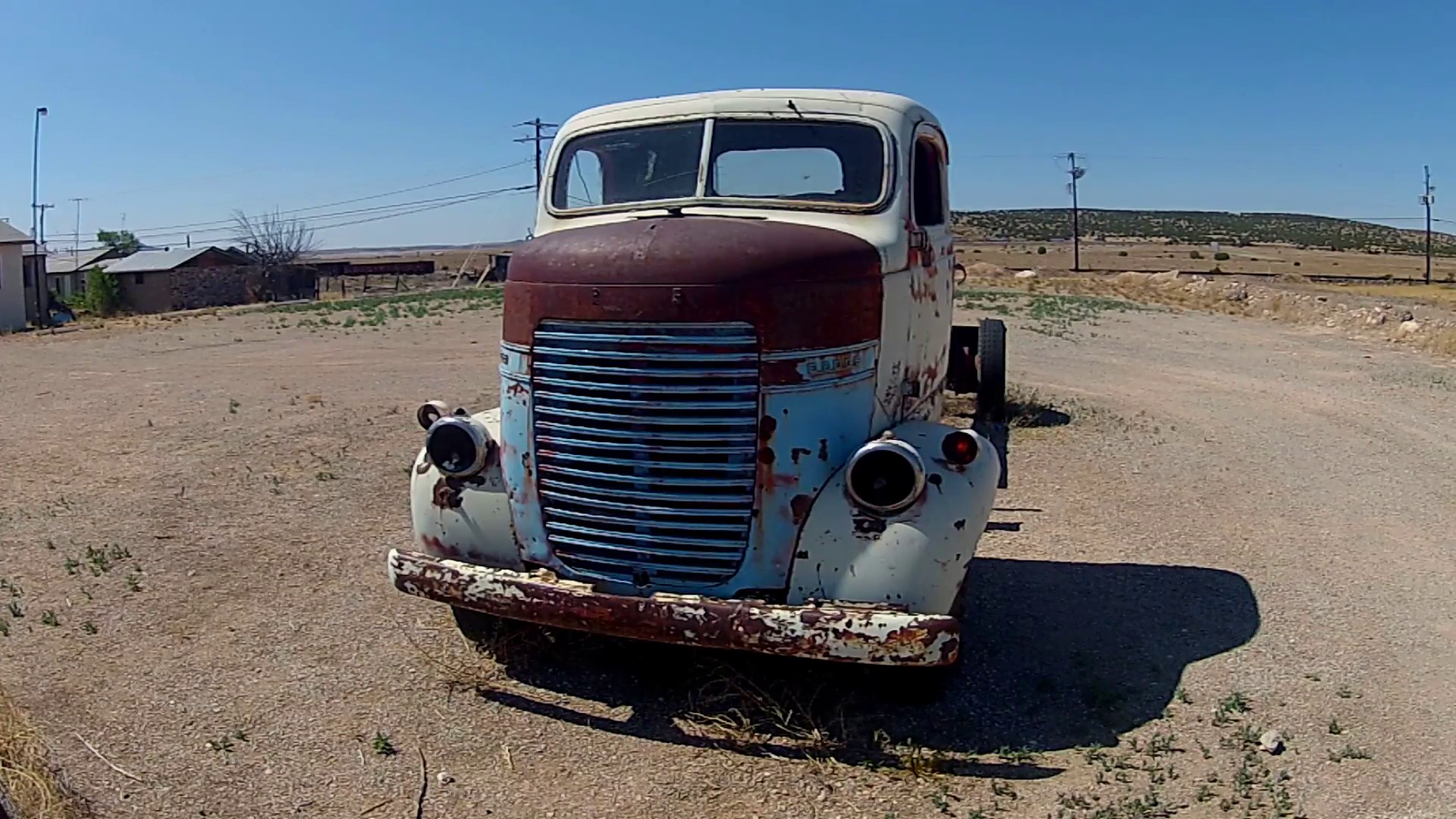 Junked Rusty Old Truck On Side Of Road- Wide Stock Video Footage -  VideoBlocks - Old Truck PNG HD
