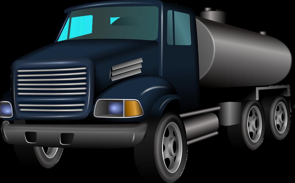 Truck Transportation Vehicle Gasoline Dies - Old Truck PNG HD